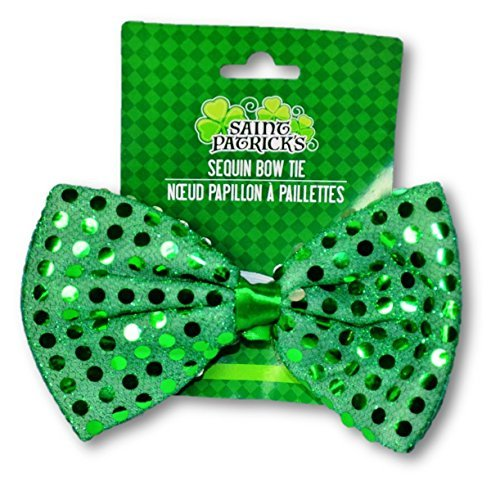 Green Sequin Bow Tie (Adult Piano Dress Costumes)