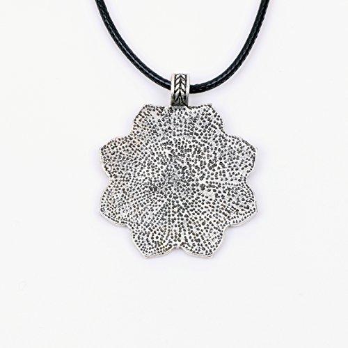 Paw House Yoga Inspired Om Lotus Mandala Necklace Pendant For Women Men Tibetan Buddhist Protection