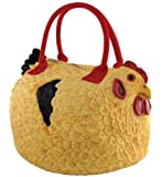 Rubber Chicken Purse - The Hen Bag Handbag by The Sarut Group