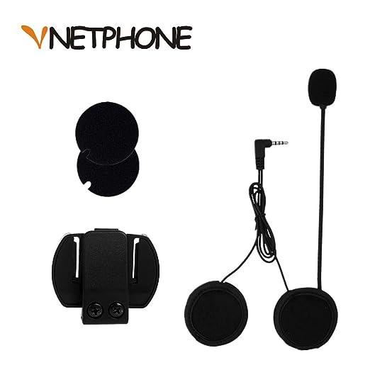 7 opinioni per VNETPHONE® Staffa Clip Cuffie con Microfono per V6 Moto Casco Bluetooth