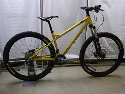 【アウトレット品】 ガノー 2015 (ルイ XC-SOIL27.5 MATT YELLOW 400mm アルミマウンテンバイク ペダルは付属しません B079GMZT2Q