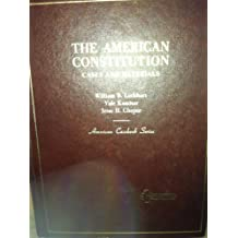 The American Constitution ; Cases and Materials (American Casebook Series )