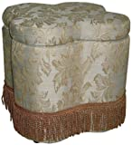 Cheap ORE International HB4182 Storage Ottoman, Floral