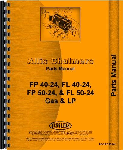 Download Allis Chalmers FP40-24 Forklift Parts Manual pdf