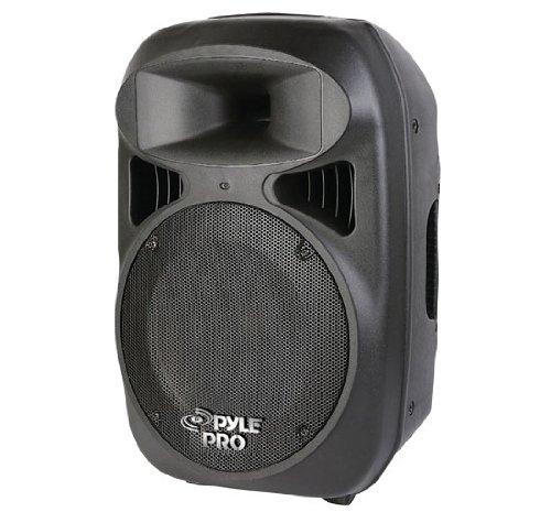 PYLE-PRO PPHP1599AI - 15'' 1600 Watt Portable Powered 2 Way Full Range Loud Speaker System w/Built in MP3/USB & Ipod Dock