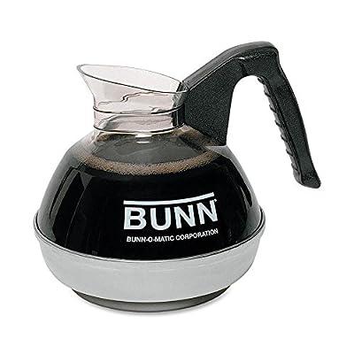 BUNN 06078.0001 12-Cup Glass Coffee Decanter, Black