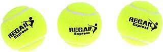 MagiDeal Set de 3pcs Balle de Tennis en Caoutchouc Accessoire Formation Tennis