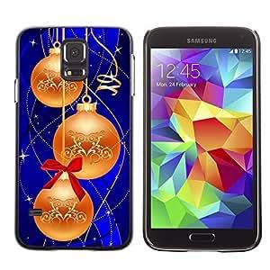 YOYO Slim PC / Aluminium Case Cover Armor Shell Portection //Christmas Holiday Decorations 1191 //Samsung Galaxy S5