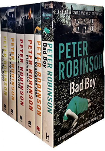 nspector Banks Series 6 Books Collection Set (Bad Boy, A Dedicated Man, Playing with Fire, Innocent Graves, In a Dry Season, Cold is the Grave) ()