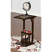 Sunny Designs Santa Fe Console Table in Dark Chocolate
