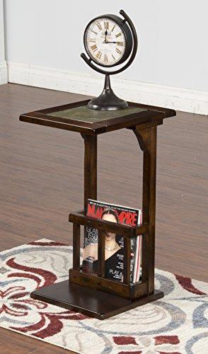 Sunny Designs Santa Fe Console Table in Dark Chocolate
