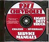 1977 CHEVROLET VAN FACTORY REPAIR SHOP & SERVICE MANUAL INCLUDING Sportvan, Cutaway Van, Hi-Cube Van and Step Van CHEVY 77