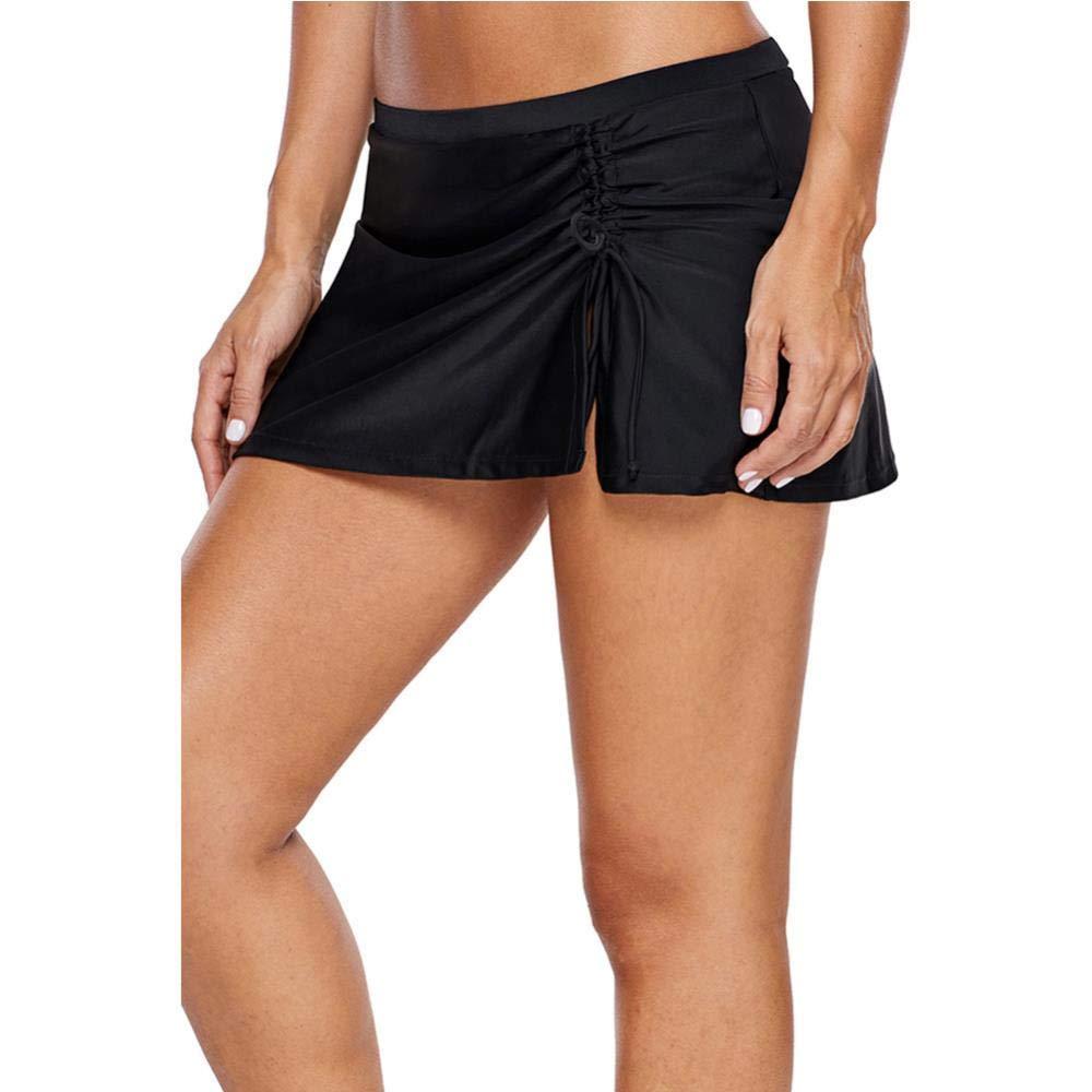 Natación estación fija hasta pantalones de cintura falda plisada ...