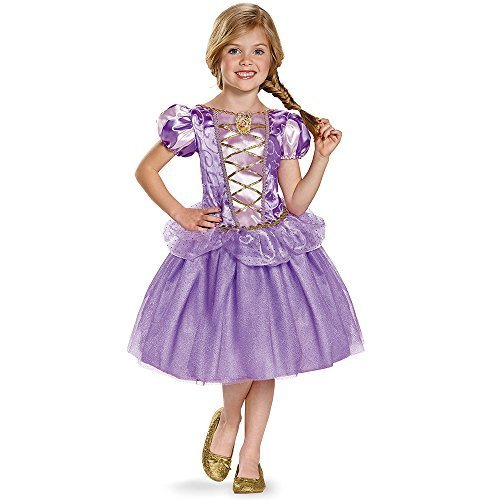 Disguise Rapunzel Classic Disney Princess Tangled Costume, X-Small/3T-4T (Tangled Fancy Dress)