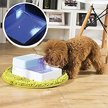 Paramount City LED Automatic Pet Water Drinking Filter...