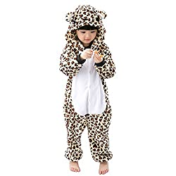 Suyu Unisex Children Animal Pajamas One-Piece Cosplay Sleepwear Onesies Pajamas Nightwear