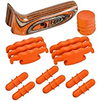 Hoyt 10-Piece Custom Accessory Kit, Right-Hand, Orange