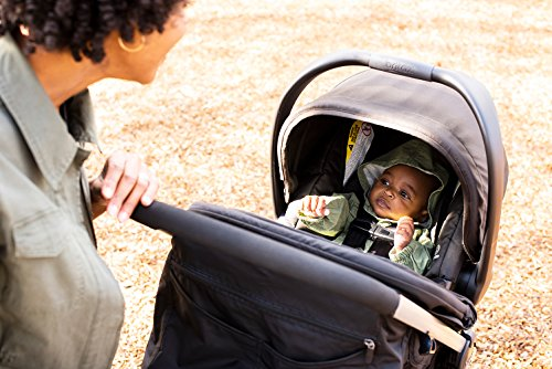 51AruCL3 vL - BRITAX B-Lively Travel System With B-Safe 35 Infant Car Seat | One Hand Fold, XL Storage, Ventilated Canopy, Easy To Maneuver, Cardinal