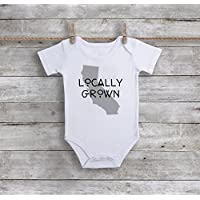 Grown Locally California Bodysuit Choose Any State