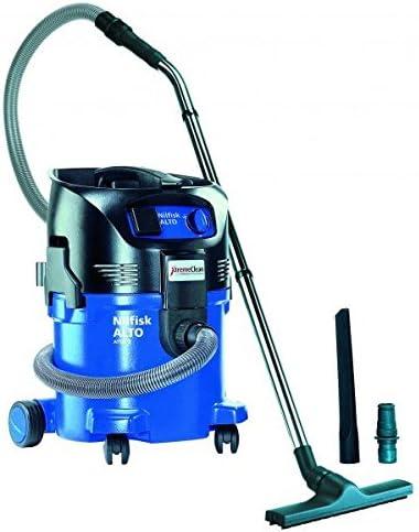 Nilfisk-Alto Attix 30-21 XC - Aspiradora en seco y húmedo (con encendido automático, para herramientas eléctricas, se incluye accesorio): Amazon.es: Hogar