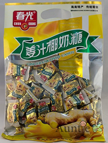 China Ginger - Chun Guang Ginger Coconut Candy 7.05 Ounce From China