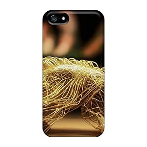 Case Cover Woven Wire Leopard/ Fashionable Case For Iphone 5/5s by ruishername
