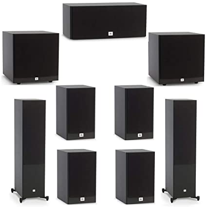 Jbl Home Speakers >> Amazon Com Jbl 7 2 System With 2 Jbl Stage A190