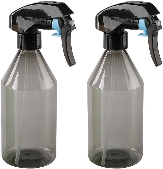 YANGTE 2 Pieces 500ml Mist Spray Bottles Empty Plastic BottlesTrigger Sprayer for Cleaning Bath Air Freshening Feeding Gardening Kitchen