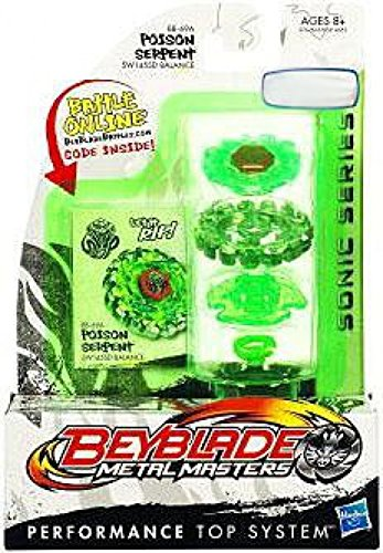 Beyblade Sonic Series Spinning Tops - Poison Serpent by Hasbro