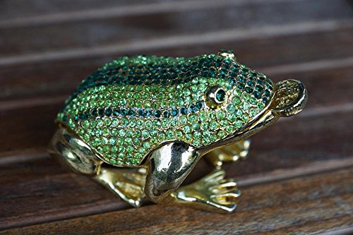 Gifts Delight LAMINATED 36x24 inches Poster: Frog Green Luck