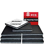 Non Slip Pads X-PROTECTOR - Floor Protector Pads - 8 pcs 100 mm Furniture Pads! Best Floor Protectors Pads - Rubber Feet – Premium Anti Slip Rubber Pads for Furniture Feet. FIX Furniture in Place!