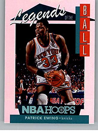 the latest 9140e 5b455 Amazon.com: 2018-19 NBA Hoops Legends of the Ball #9 Patrick ...