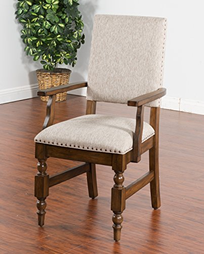 Sunny Designs Savannah Arm Chair with Cushion Seat and Back