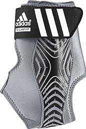 adidas Adizero Right Ankle Brace, Grey/Black, Large