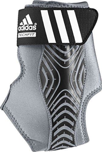 adidas Performance adizero Speedwrap Left Ankle Brace, Medium Lead/Black, Large