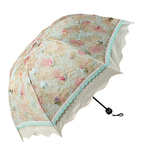 Compact Folding Folwer Flouncing umbrella product image