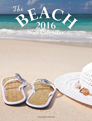 Read Online The Beach 2016 Wall Calendar pdf
