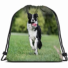 Not Only A Drawstring Bag, But Also A Fashion LifestyleWith waterproof Polyester and additional internal zipper pocket to put small items, you can use as dance bag,outdoor sports backpack or yoga gym bag which will make you look so special !F...