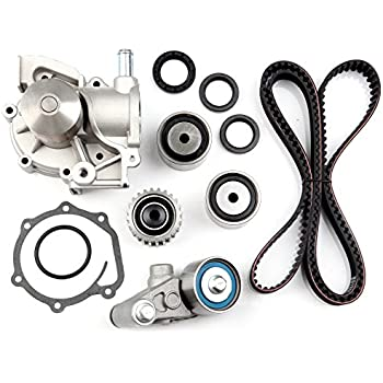 SCITOO Timing Belt Water Pump Gasket Tensioner Kit Fit 1999-2005 Subaru Legacy Outback Forester Impreza EJ251 EJ252 EJ253 EJ22 2.2L 2.5L