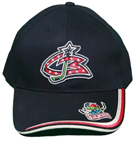 Image Unavailable. Image not available for. Color  New! Columbus Blue  Jackets Adjustable Velcro Back Embroidered Cap fad02e71782