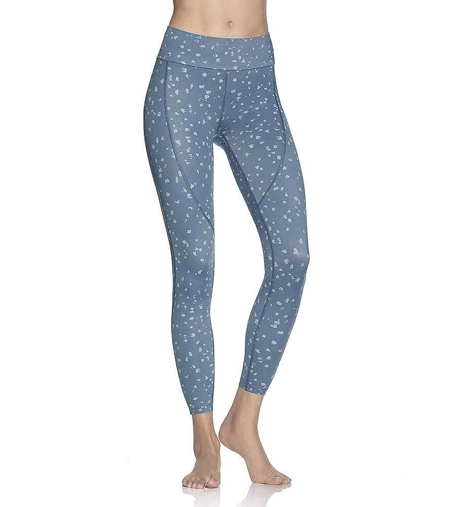 Maaji Dazzling Spotted Aqua MID Rise 7//8 Legging