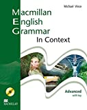 Macmillan English Grammar in Context: Advanced/Student's Book with CD-ROM and Key