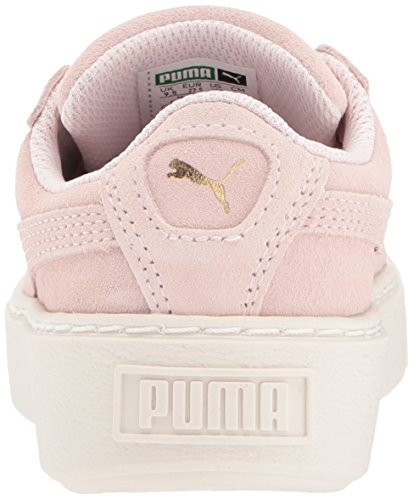 Pictures of PUMA Kids' Suede Platform Glam Sneaker Pink 36492207 8