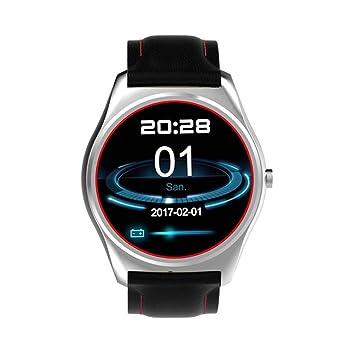 Bluetooth Montre Smartwatch Sport Montre Fitness Tracker Montres connectées avec GPS Tracker/Musique Caméra Contrôle