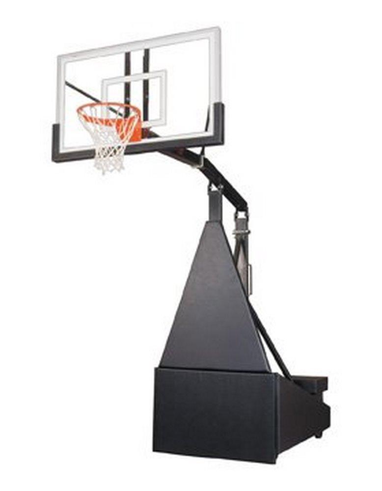 最初チームStorm Pro steel-glassポータブルバスケットボールsystem44 ;ゴールド B01HC0B6S0