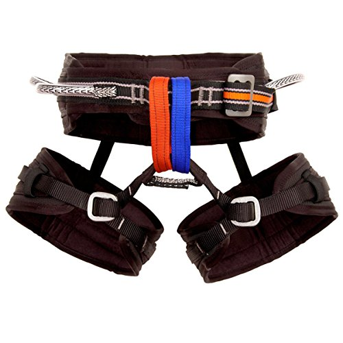 Metolius Safe-Tech Waldo Harness Harnesses MD Grey - Ballistic Drop Leg