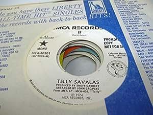 TELLY SAVALAS 45 RPM IF / SAME