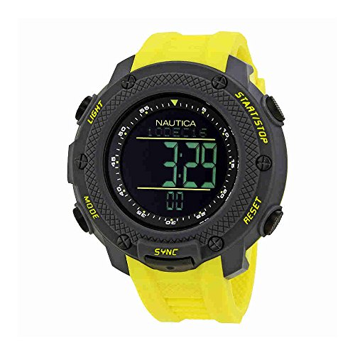 Nautica NMX Mens Yachtimer Sports Watch NAD19555G