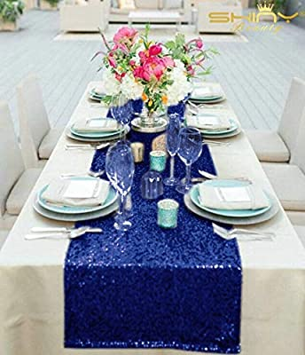 Ronshin Wedding Party Decorations High Density Sequins Table