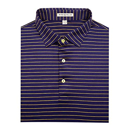 PETER MILLAR Cotton Polo Navy (L) from PETER MILLAR
